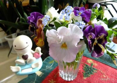 ベランダの花たち