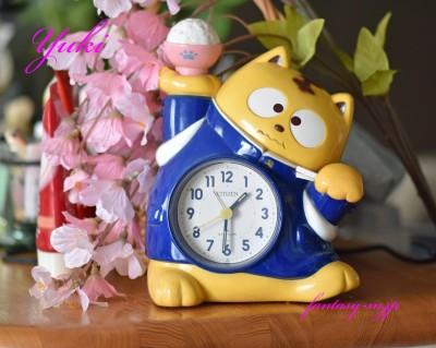 息子の目覚まし時計